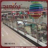 供应商场走廊不锈钢玻璃栏杆DMS-B2101