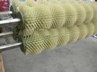供应土豆大蒜去皮机毛刷辊、去鱼鳞机毛刷、