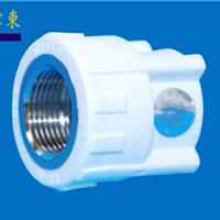 PP-R热熔、冷热给水管件 内螺纹直接头白色