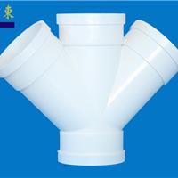 直销PVC-U塑料管件、排水、45?斜四通