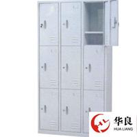 供应华良铁柜-九门加层板储物柜-文件柜批发