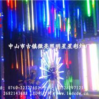 供应山西亮化工程LED景观树流星雨