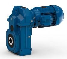 供应奥地利watt瓦特轴安装-斜齿轮减速电机