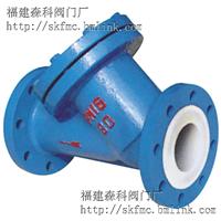 福建衬氟Y型过滤器GL41F46-16C