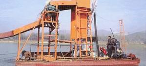 砂石精选设备 清淤用抽沙船 双磁选铁沙船