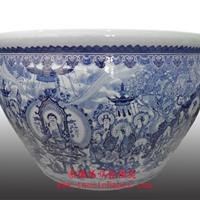 陶瓷风水缸 陶瓷鱼缸 陶瓷工艺礼品 景德镇陶瓷大缸