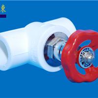 PP-R热熔、塑料、冷热给水管件 闸阀灰色
