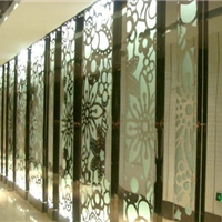供应最优惠的不锈钢钛金屏风加工品种齐全