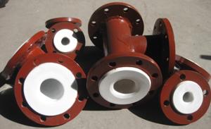 供应衬四氟管道―火电厂除盐水输送管道