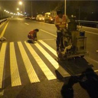供应云南小区道路划线 厂区车间划线