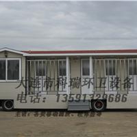 供应拖车拖挂式移动厕所车载环保公厕厂家