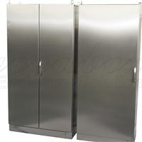 不锈钢机箱机柜,钣金加工,独立式机柜