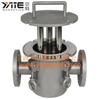 供应浆料除铁器 流体管道除铁器 永磁磁选机