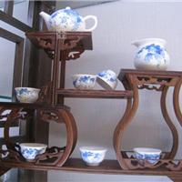 供应景德镇手工茶具 玲珑瓷茶具 手绘茶具