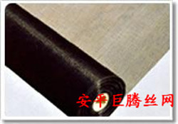 厂家长期出售各种型号黑丝布-安平巨腾丝网