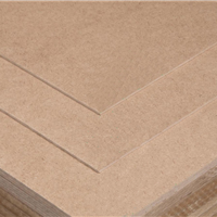 E1级3mm 密度板 中纤板 板材 中密度板