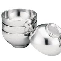 厂家直销不锈钢不锈钢双层焊边碗食碗