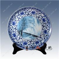 婚庆礼品陶瓷结婚纪念像陶瓷看盘