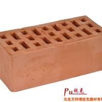 供应天津清水幕墙砖陶土页岩砖植草砖路沿石