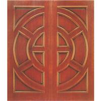 常州纯实木手工雕花木门楼梯护墙板橱柜酒柜