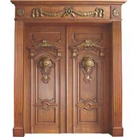 无锡纯实木手工雕花木门护墙板楼梯招商米澜木业高点木业