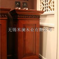 纯实木手工雕花橱柜实木酒柜实木衣柜