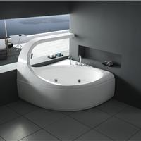 新奇异三角形五件套优质亚克力按摩冲浪浴缸水疗浴缸别墅浴缸