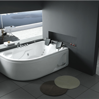 1.8m 亚克力冲浪双人浴缸五件套按摩浴缸水疗浴缸别墅浴缸