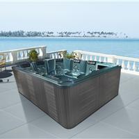 供应户外spa按摩浴缸进口亚克力浴池泳池水疗浴缸别墅浴缸卫浴