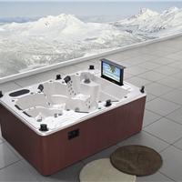 供应正品户外spa按摩多人冲浪浴缸浴盆浴池水疗浴缸别墅浴缸
