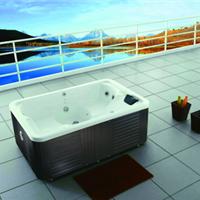 供应进口亚克力SPA多人按摩浴缸厂家直销水疗浴缸别墅浴缸