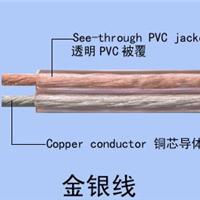 供应环威电缆 RVB 2*2.0 250芯金银铜音箱线