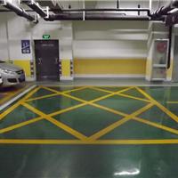 青岛秀珀尔停车场环氧地坪
