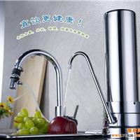 净水机自来水除垢器,单筒10寸台式不锈钢