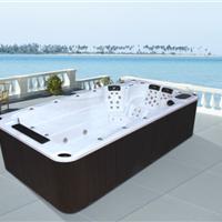 广东卫浴酒店别墅豪华户外泳池浴缸水疗按摩