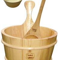 供应实用木桶木勺送内胆 豪华卫浴配件