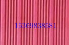 河北红色条纹橡胶板,防滑胶垫价格