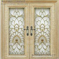 厂家大量生产工艺门铜雕门