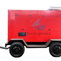 宁夏发电机 拖车式移动站