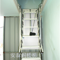 供应电动楼梯,复式绍兴伸缩楼梯