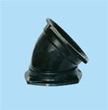 供应45度双盘弯头球墨铸铁管件亚西亚首选