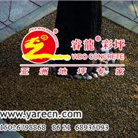供应树穴胶筑彩色透水米石