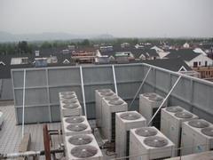 冷却塔声屏障|冷却塔专用顶部折角声屏障