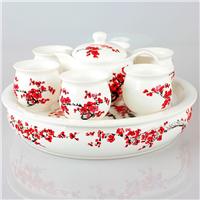 供应精品陶瓷茶具,功夫茶具套装,礼品茶具