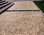 上海久彩景观工程―压模地坪、彩色混凝土