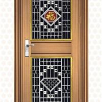 乐福斯厂家大量直销豪华不锈钢门