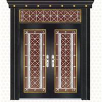 乐福斯厂家大量供应直销豪华不锈钢门