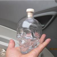 供应骷髅头瓶,玻璃骷髅头瓶,骷髅头玻璃瓶