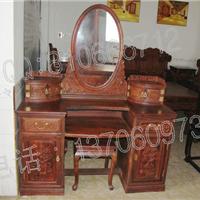 老挝大红酸枝梳妆台,交趾黄檀梳妆台