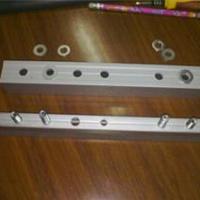 铝合金玻璃门夹自动门电机槽导轨铝合金门框